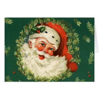 Cartes Père Noël classique