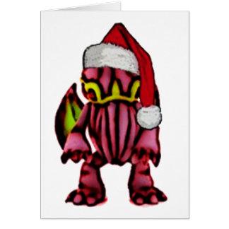 Cartes Père Noël Cthulhu
