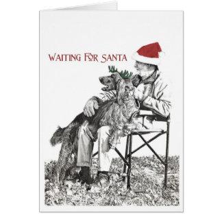 Cartes Père Noël de attente II