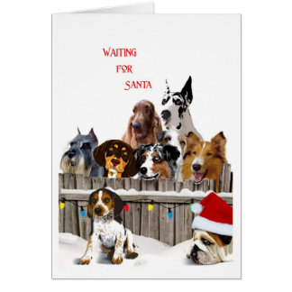 Cartes Père Noël de attente III