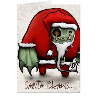 Cartes Père Noël griffe…