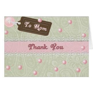 Cartes Perles du jour de mère