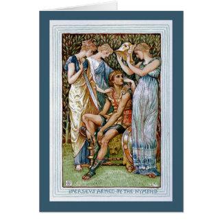 Cartes Perseus a armé par les nymphes