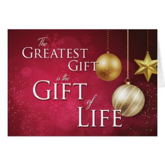 Cartes Personnalisable le plus grand cadeau est le cadeau