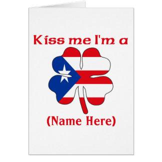 Cartes Personnalisé embrassez-moi que je suis voiture
