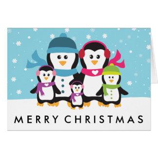 Cartes Personnalisez des vacances de Noël de famille de