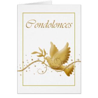 Cartes Perte d'enterrement de condoléance