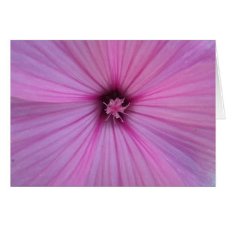Cartes Pétales roses de coeur de fleur
