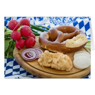 Cartes Petit déjeuner d'Oktoberfest