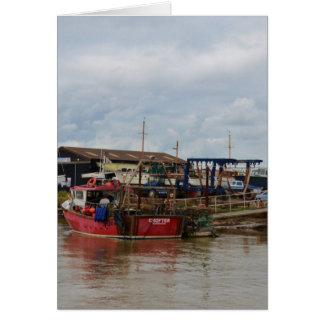 Cartes Petit fermier de bateau de pêche
