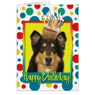 Cartes Petit gâteau d'anniversaire - colley - Caroline