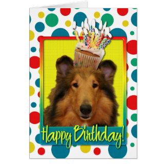 Cartes Petit gâteau d'anniversaire - colley - Natalie