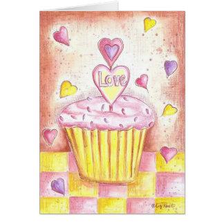 Cartes Petit gâteau de Valentine