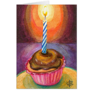 Cartes Petit gâteau heureux !