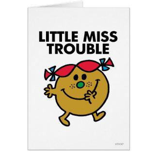 Cartes Petit lettrage noir de Mlle Trouble |