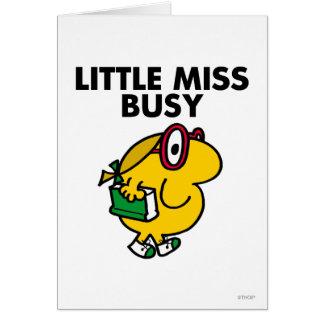 Cartes Petit temps de lecture de Mlle Busy |