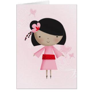 Cartes Petite fille chinoise de Ni Hao