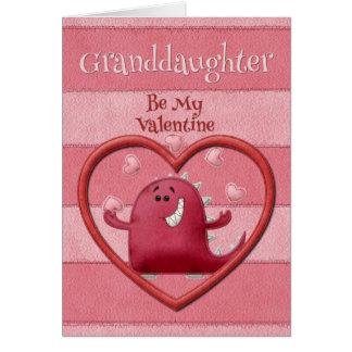 Cartes Petite-fille de heureuse Sainte-Valentin