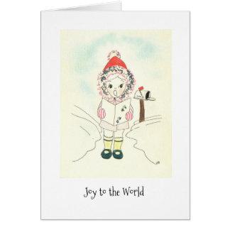 Cartes Petite fille de joie