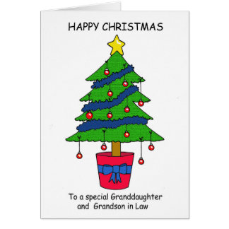 Cartes Petite-fille et petit-fils dans Noël heureux de