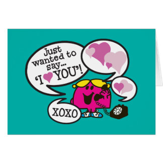 Cartes Petite Mlle Chatterbox | Valentine