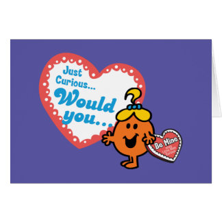 Cartes Petite Mlle Curious | Valentine