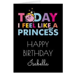 Cartes Petite Mlle le princesse | que je me sens comme
