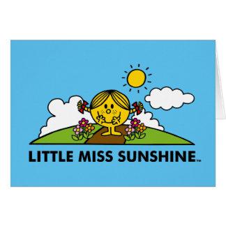 Cartes Petite Mlle Sunshine | de nouveau à la nature