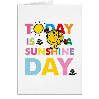 Cartes Petite Mlle Sunshine | est aujourd'hui un jour de