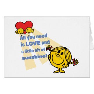Cartes Petite Mlle Sunshine | tout que vous avez besoin