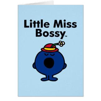 Cartes Petite petite Mlle Bossy de la Mlle | est si