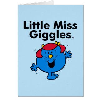 Cartes Petite petite Mlle Giggles Likes To Laugh de la
