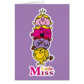 Cartes Petite petite Mlle Standing Tall de la Mlle |