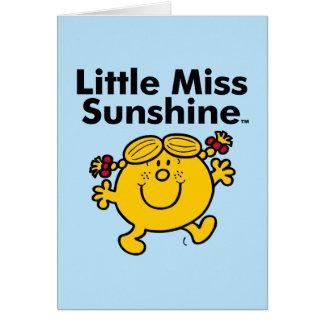 Cartes Petite petite Mlle Sunshine de la Mlle | est un