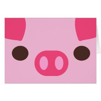 Cartes Peu porcin