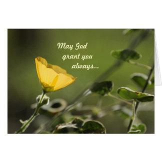 Cartes Peut la concession de Dieu vous….