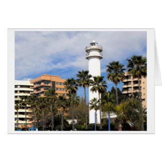 Cartes Phare à Marbella, Espagne