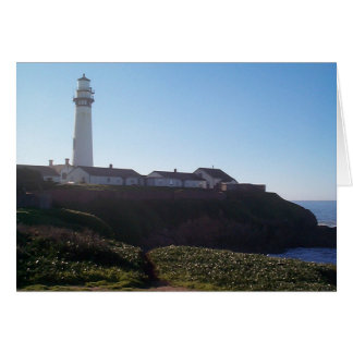 Cartes Phare de point de pigeon