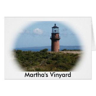 Cartes Phare de Vinyard de Martha