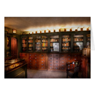 Cartes Pharmacie - le magasin d'apothicaire