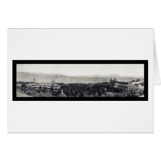 Cartes Photo 1908 d'hôtel de Helena Broadwater