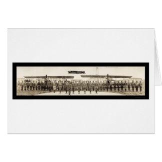 Cartes Photo 1918 du champ TX d'amour de dirigeants