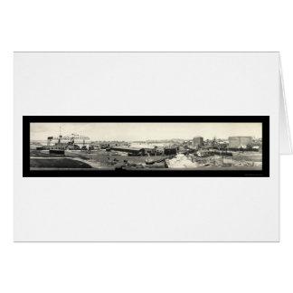 Cartes Photo 1919 de Porto Rico de kérosène