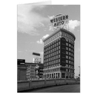 Cartes Photo automatique occidentale d'architecture de