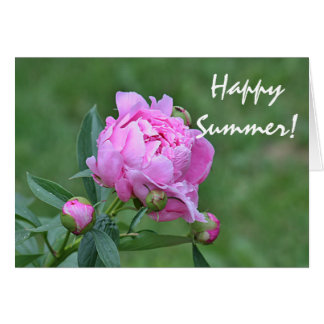 Cartes Photo de fleur d'été