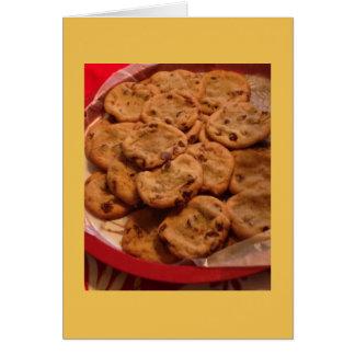 Cartes Photo de gâteaux aux pépites de chocolat