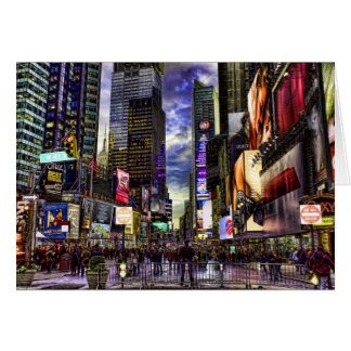 Cartes Photo de Times Square dans HDR