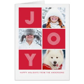 Cartes Photo de vacances de la JOIE |
