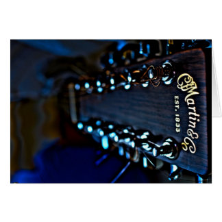 Cartes Photographie de HDR de guitare