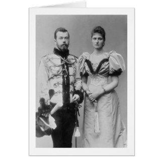 Cartes Photographie de portrait de tsar Nicholas II